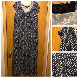 IGIGI Tiana maxi dress with pockets size 22/24